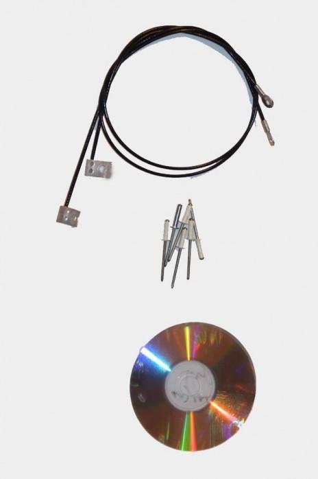 MAZDA MX-5 NA Verdeck Einbauanleitung & Verdeckspannseile Spannseile 1 Satz