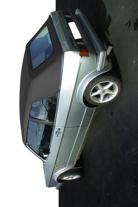 VW Volkswagen Golf 1 Vinyl-Verdeck Vinylverdeck schwarz