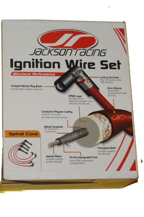 Zündkabel Silikon- Zündkabelsatz JR Jackson Racing NA NB  8mm  Bj. 89-05