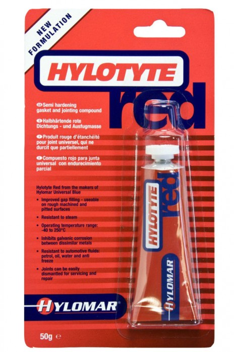 Hylotyte Red 100 Masse Dichtungspaste Paste Tube halbhärtend Ausfugmasse 40ml  (EUR 32,48 / 100 ml)