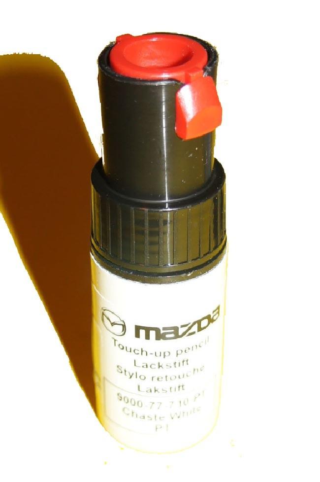mazda mx-5 miata lackstift pt chaste white neu lack original