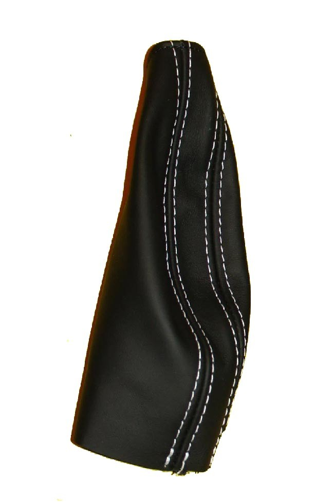 Schaltsack schwarzes Italienisches Leder