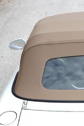 MAZDA MX-5 NA & NB Stoffverdeck beige sandfarben NC Style (Luxus-Version) Stayfast inkl. beheizbarer Heckscheibe