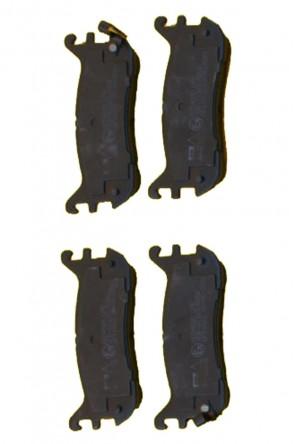 NA 2x Bremsbeläge Bremsklötze EBC blackstuff  231mm Ø HA (1989-1994) Hinterachse