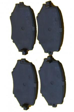NA 2x Bremsbeläge Bremsklötze 235mm Ø VA (1989-1994) Vorderachse