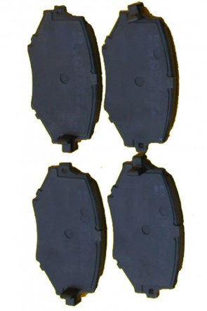 NA 2x Bremsbeläge Bremsklötze 235mm Ø EBC Blackstuff VA (1989-1994) Vorderachse