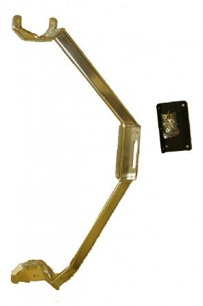 MAZDA MX-5 NA NB Strebe Domstrebe Versteifung STREBE Dreipunkt ALU Motorraum (ideal für Kompressor)