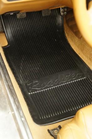 MAZDA MX-5 NA NB Fußmattensatz Gummi Gummifussmatten Fußmatten  1 Satz schwarz