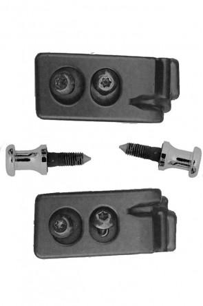 MAZDA MX-5 NA NB Seitliche Hardtophalter Halter für Hardtop inkl. Bolzen (1989-2005) 1 Satz