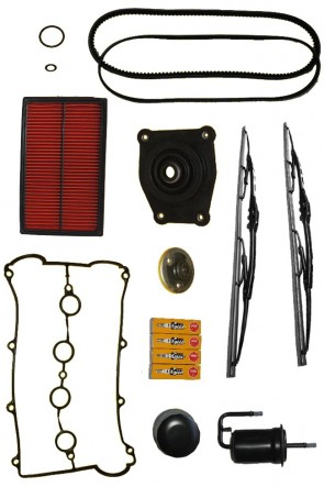 MAZDA MX-5 NA 1.8 Großes Inspektionspaket Servicepaket Servicekit Inspektionskit Inspektion Kit Set 130PS (ohne Klima) - a/c