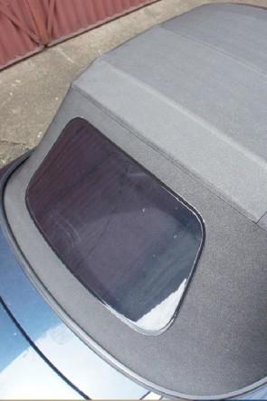 MAZDA MX-5 NA NB Vinyl-Verdeck Faltdach NEU schwarz PVC einteilig Plastikscheibe