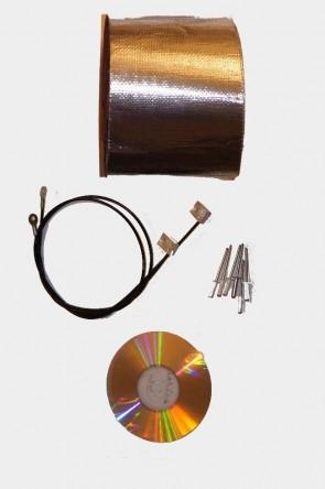 MAZDA MX-5 NA Verdeck Einbauanleitung & Verdeckspannseile Spannseile Reparaturband für Regenrinne 1 Satz