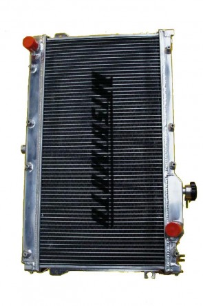 NA PERFORMANCE Kühler Wasserkühler von MISHIMOTO Bj. 89-98 (2 Reihen)