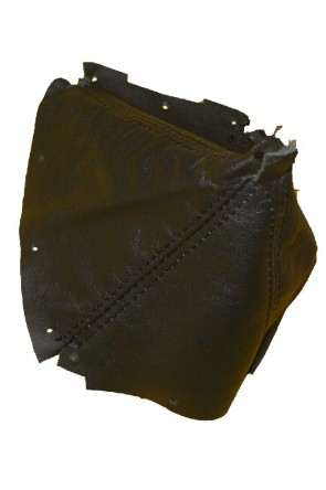 NA  Lederschaltsack Schaltsack Schaltmanschette Leder schwarz
