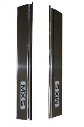 MAZDA MX-5 NA  Chrom-Einstiegsleisten Chromleisten Trittleisten 1 Satz