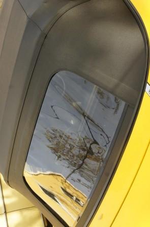 NA NB Vinyl-Verdeck Faltdach schwarz zweiteilig inkl. Reißverschluß & Plastikscheibe PVC