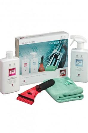 NA NB AutoGlym Winter Care Pflege & Schutz  2x 500ml Scheibenreiniger Enteisungsmittel + Mikrofasertuch & Eiskratzer