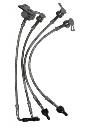 NA NB Bremsleitungen Leitung Brems-Schlauch Bremsschlauch Stahlflexleitungen Bremsschläuche 1 Satz (1989-2005)